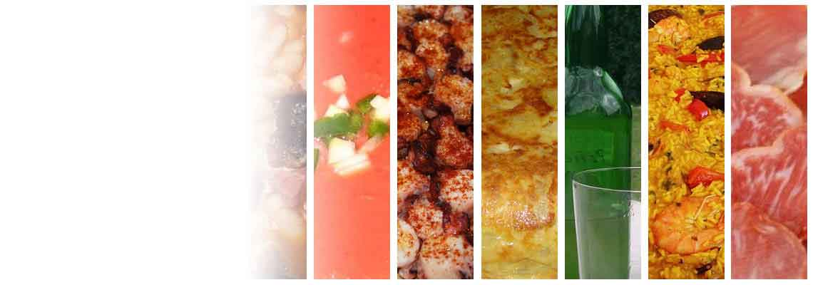 Ja palju muid tooteid Hispaania kokakunsti