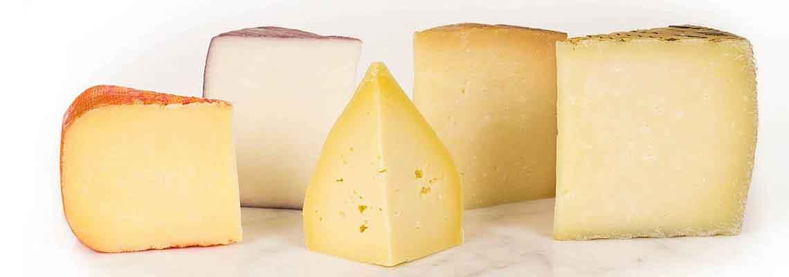 Erinevaid juustud