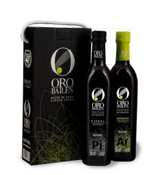 Ekstra neitsioliiviõli Oro Bailen.Estuche 2 botellas 750 ml.