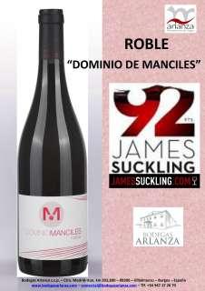 Punane vein Dominio de Manciles, Roble