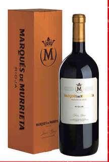 Punane vein Marqués de Murrieta  en caja de cartón (Magnum)