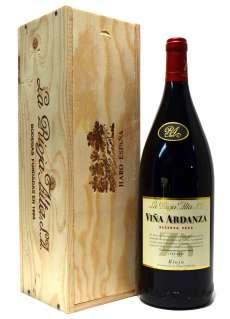 Punane vein Viña Ardanza  en caja de madera (Magnum)
