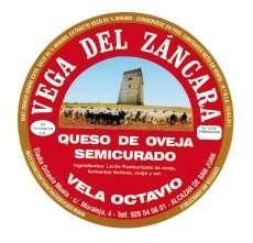 Semicured juustuga Vega del Záncara