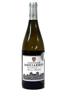 Valge vein Castillo Monjardín Chardonnay Fermentado en Barrica